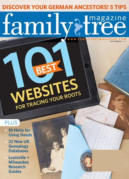 Family Tree Cover - 9/1/2012