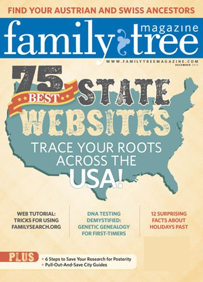Family Tree Cover - 12/1/2012