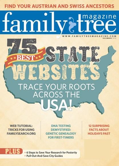 Family Tree Cover - 12/1/2012
