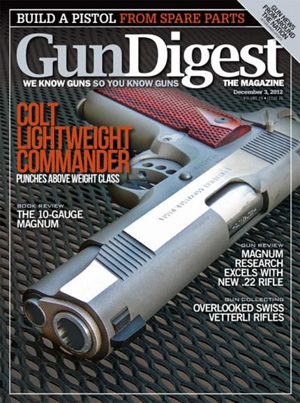 Gun Digest Cover - 12/3/2012