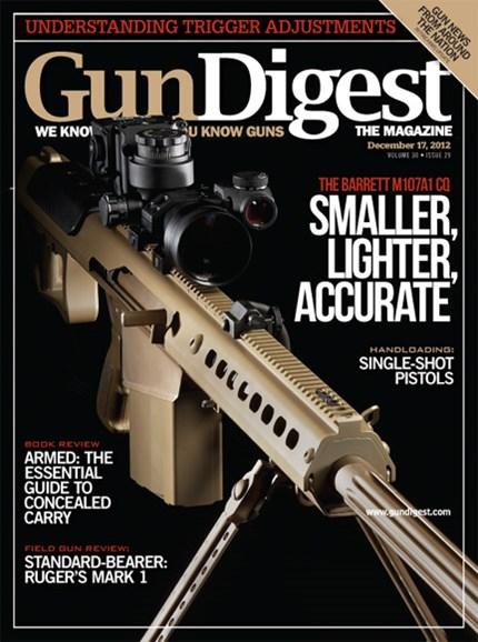 Gun Digest Cover - 12/17/2012
