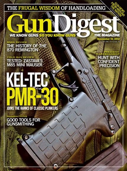 Gun Digest Cover - 11/19/2012