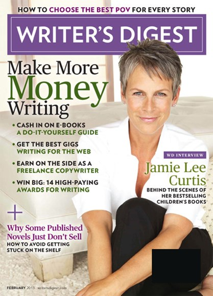 Writer's Digest Cover - 2/1/2013
