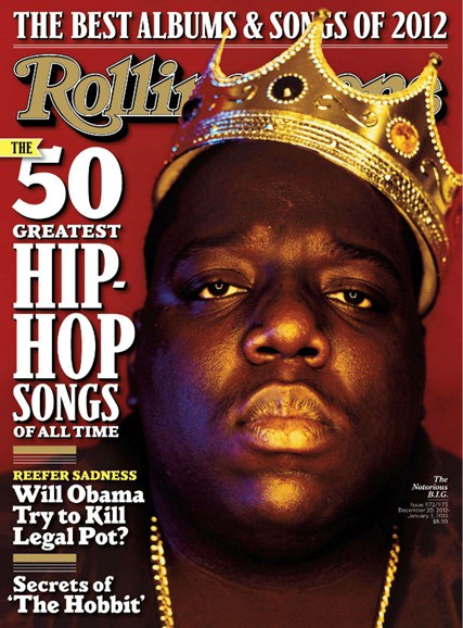 Rolling Stone Cover - 12/20/2012
