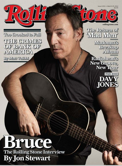 Rolling Stone Cover - 3/29/2012
