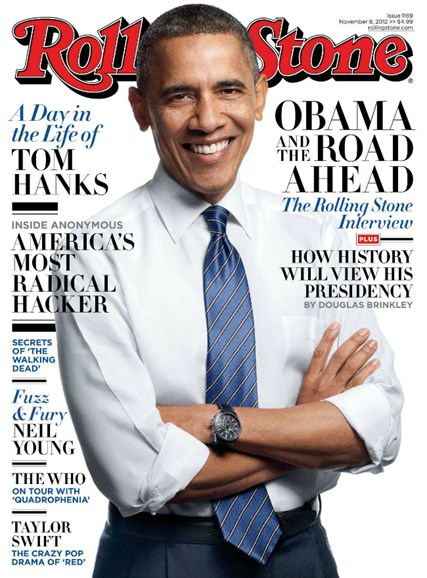 Rolling Stone Cover - 11/8/2012
