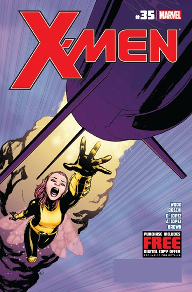 X-Men Gold Cover - 11/1/2012