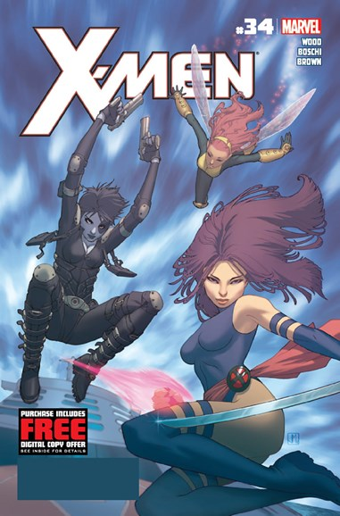 X-Men Gold Cover - 10/1/2012