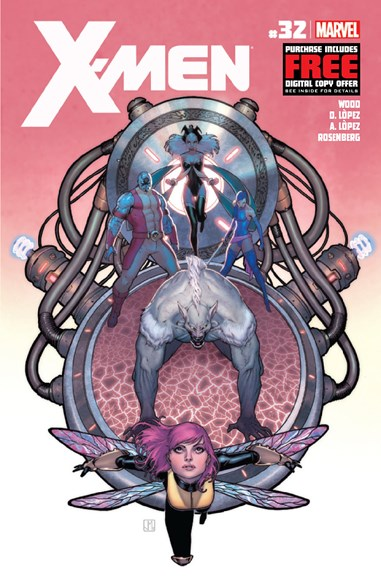X-Men Gold Cover - 9/1/2012