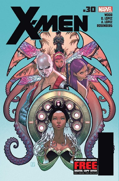 X-Men Gold Cover - 8/1/2012