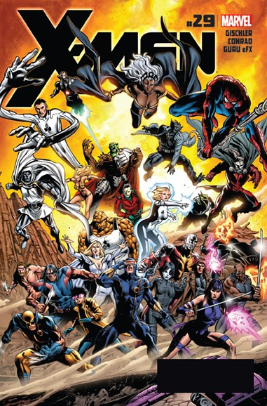 X-Men Gold Cover - 7/15/2012