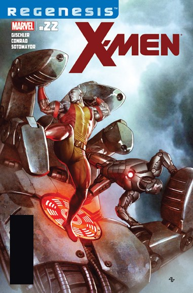 X-Men Gold Cover - 2/1/2012