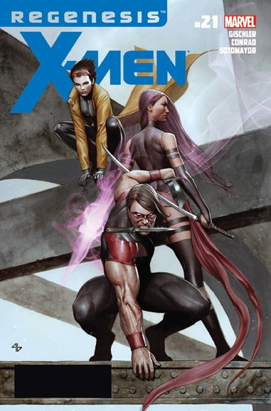 X-Men Gold Cover - 1/15/2012