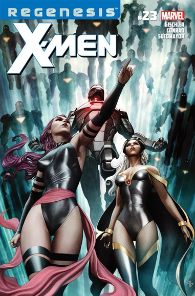 X-Men Gold Cover - 3/1/2012