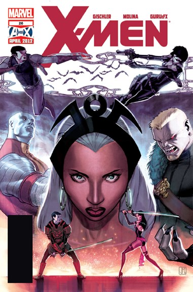 X-Men Gold Cover - 5/1/2012