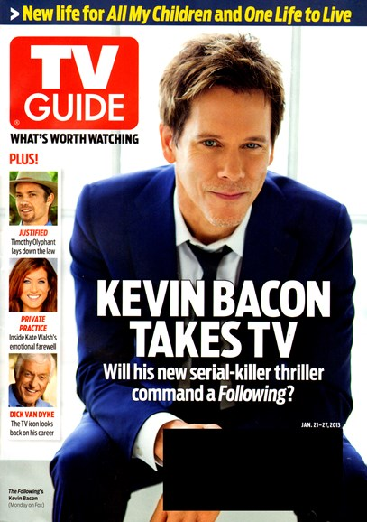 TV Guide Cover - 1/21/2013