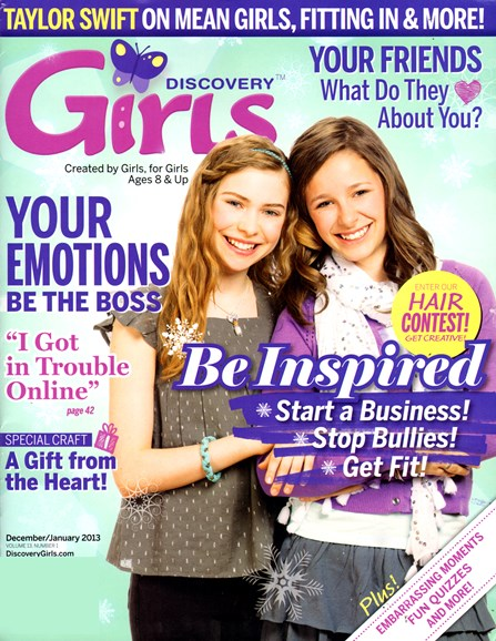 Discovery Girls Cover - 12/1/2012