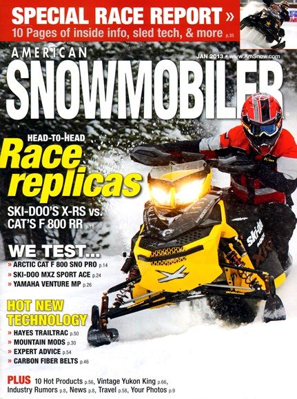 American Snowmobiler Cover - 1/1/2013