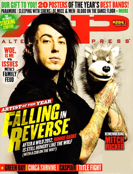 Alternative Press Cover - 1/1/2013