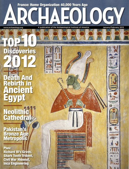 Archaeology Cover - 1/1/2013