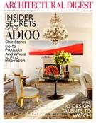 Architectural Digest 1/1/2013