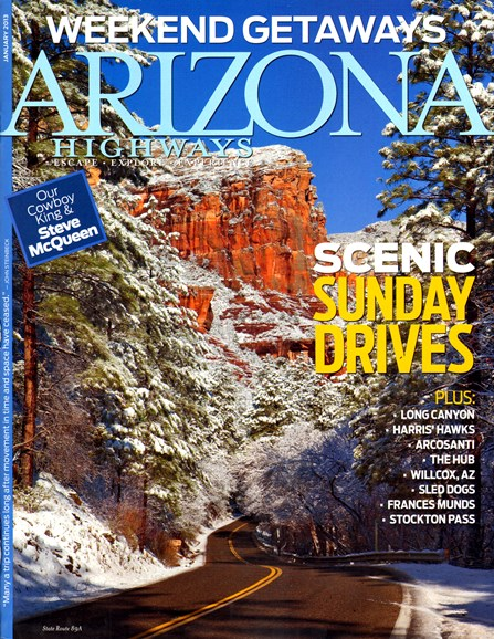 Arizona Highways Cover - 1/1/2013