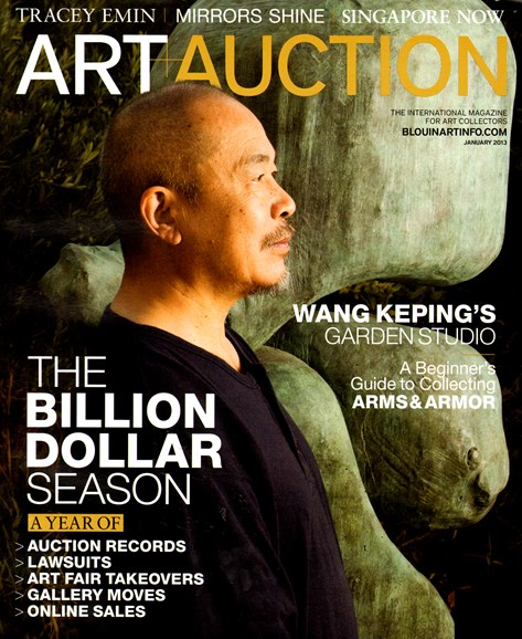 Blouin Art & Auction Cover - 1/1/2013