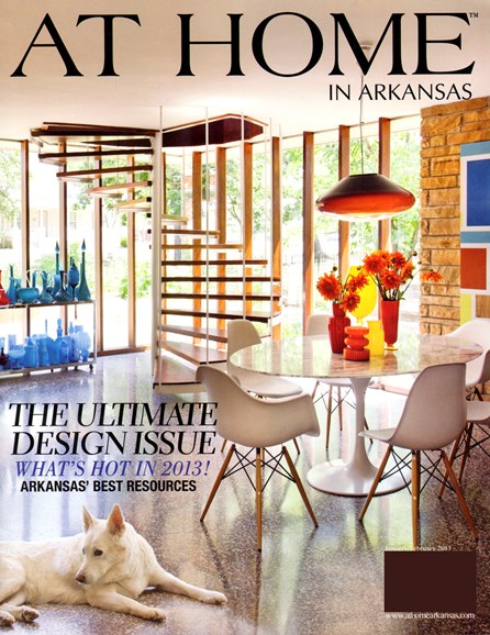 At Home In Arkansas Cover - 1/1/2013
