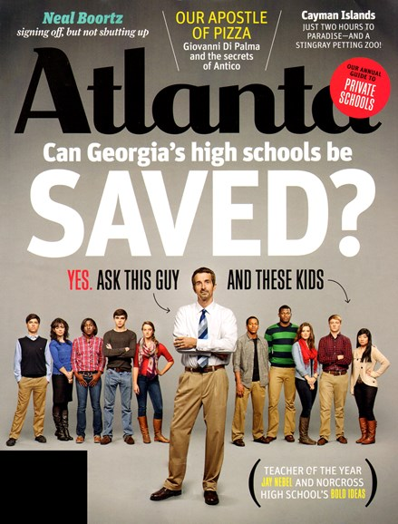Atlanta Magazine Cover - 1/1/2013