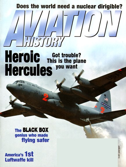 Aviation History Cover - 1/1/2013
