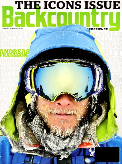 Backcountry Cover - 1/1/2013