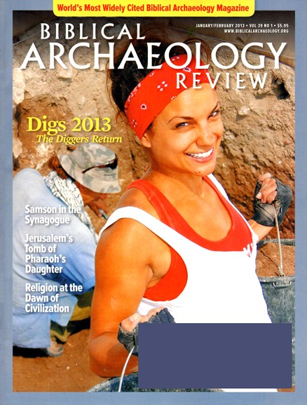 Biblical Archaeology Review Cover - 1/1/2013