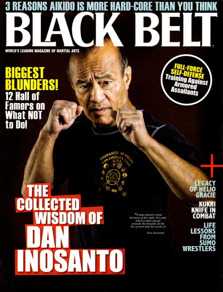 Black Belt Magazine Cover - 1/1/2013