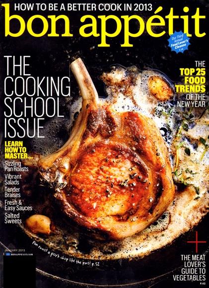 Bon Appétit Cover - 1/1/2013