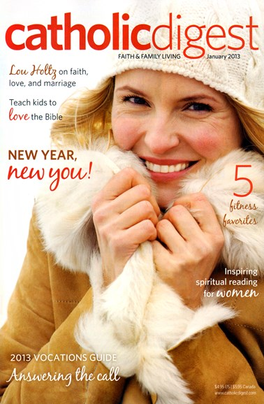 Catholic Digest Cover - 1/1/2013