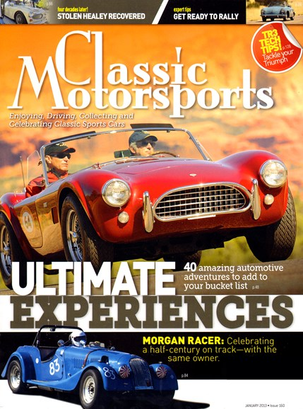 Classic Motorsports Cover - 1/1/2013