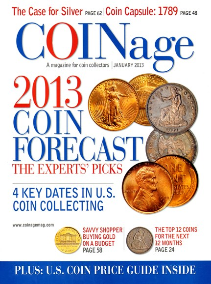 Coinage Cover - 1/1/2013