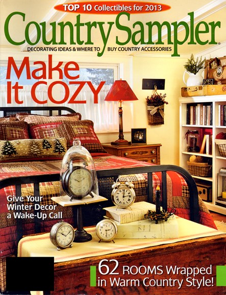 Country Sampler Cover - 1/1/2013