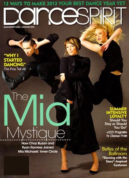 Dance Spirit Cover - 1/1/2013