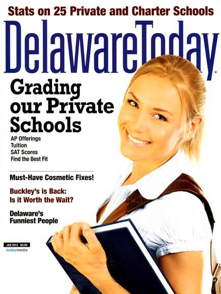 Delaware Today Cover - 1/1/2013