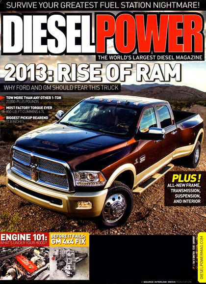 Diesel Power Cover - 1/1/2013