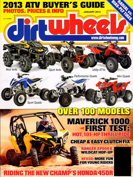 Dirt Wheels Cover - 1/1/2013