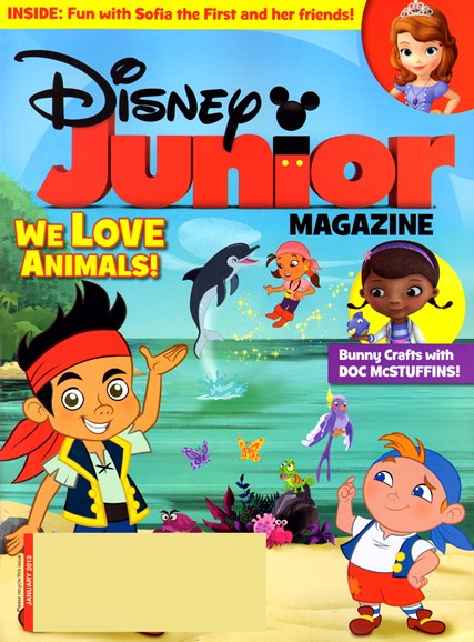 Disney Junior Cover - 1/1/2013