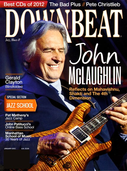 DownBeat Cover - 1/1/2013