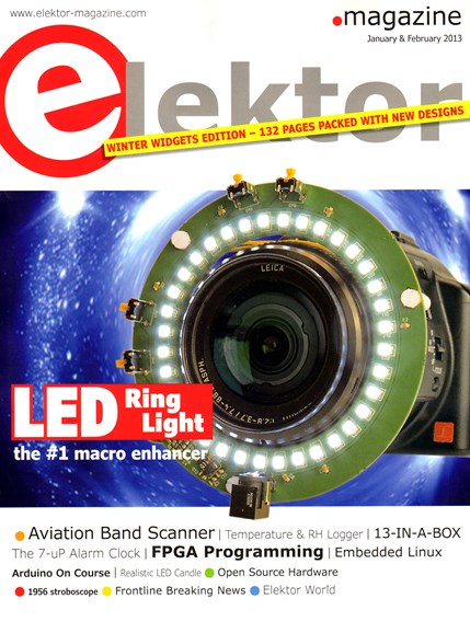 Elektor - North American Edition Cover - 1/1/2013