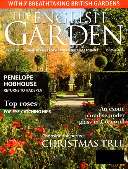 The English Garden Cover - 1/1/2013
