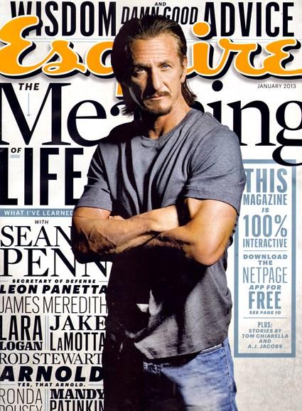 Esquire Cover - 1/1/2013