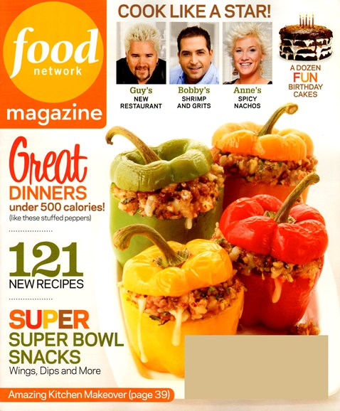 Food Network Cover - 1/1/2013