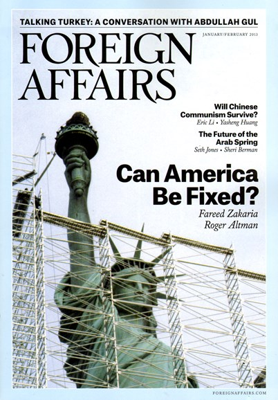 Foreign Affairs Cover - 1/1/2013