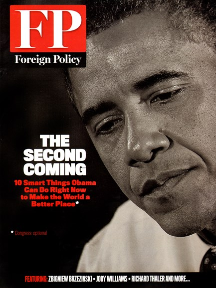 Foreign Policy Cover - 1/1/2013